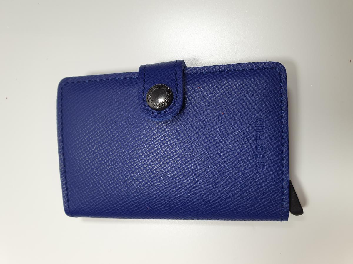SECRID Miniwallet Blue