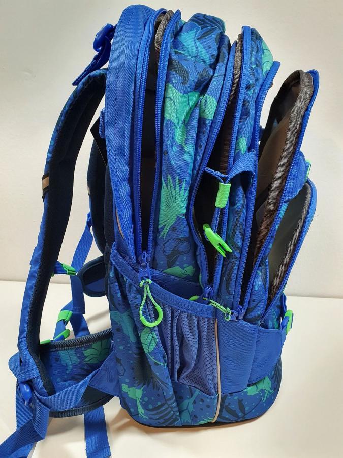Coocazoo Schulrucksack Tropical Blue